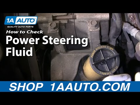 Auto Repair: How Do I Check/Add Power Steering Fluid to My Car or Truck? - 1AAuto.com