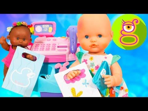La bebé Luci y Martina van de compras para la bebé Claudia - Capítulo #43