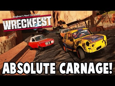 Wreckfest Mods - 3 TRACKS OF ABSOLUTE CARNAGE! Next Car Game Gameplay