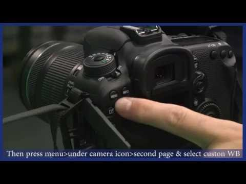 Canon 7D tutorial - Setting up video settings (LSS)