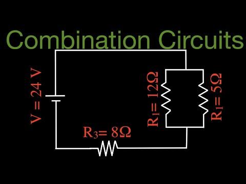 Resistors (4 of 11) in Combination, Series and Parallel Resistors No. 1