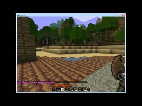 Minecraft How to Install WorldEdit/some Commands
