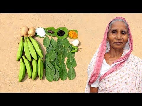 Gandal Pata & Kachkala Recipe by Grandmother | Village Food Recipes