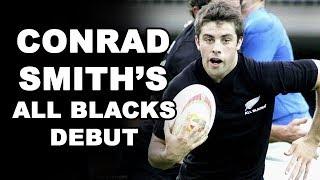 Conrad Smith's All Blacks Debut
