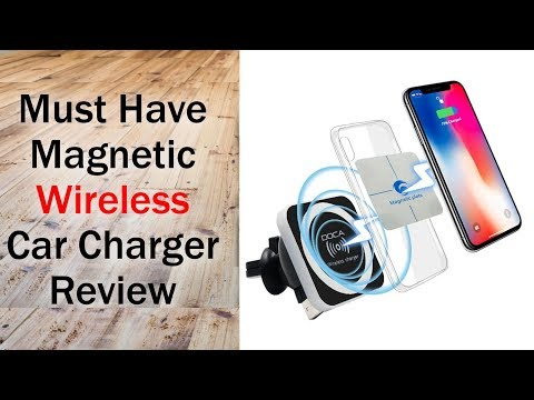 Must Have Wireless Car Charger Review + Giveaway (for S8, Note 8, iPhone 8, iPhone X)