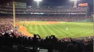 Red Sox win World Series, final out