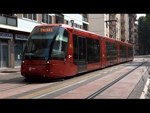 Trams in Mestre - Venice