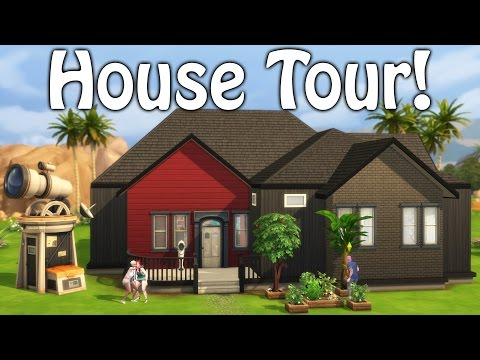 The Sims 4 Get to Work Family's Updated House!