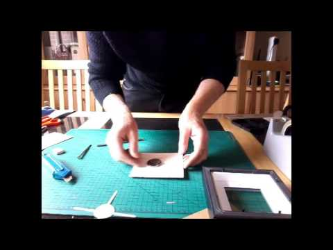 Mounting a Coin for Display in a Box Frame