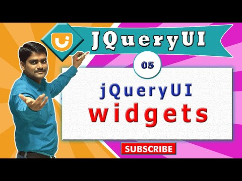 jquery ui video tutorial 05 - Introduction to jQueryUI widgets