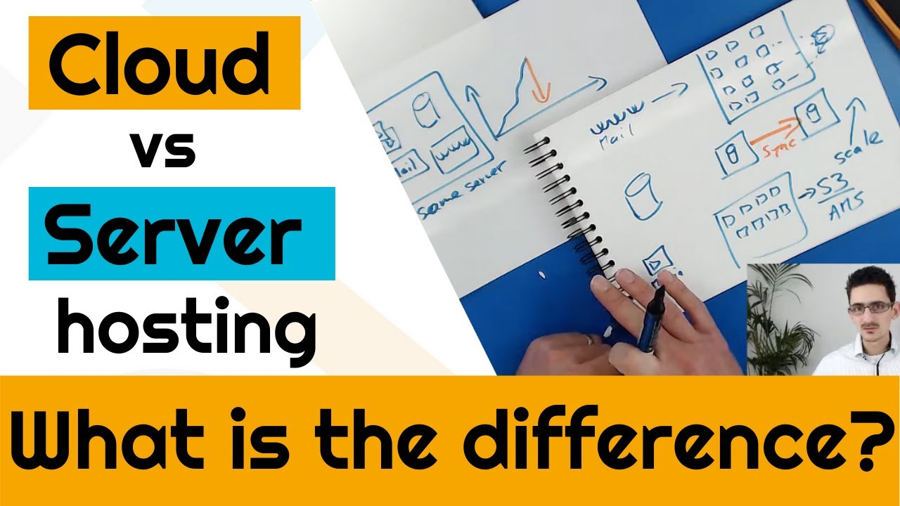 What's the difference between a server and a cloud hosting?