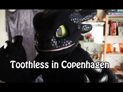 Toothless in Copenhagen