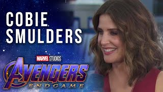Cobie Smulders Talks About Maria Hill's Connecting Role LIVE at the Avengers: Endgame Premiere