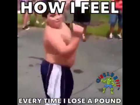 How i feel when i lose a pound..