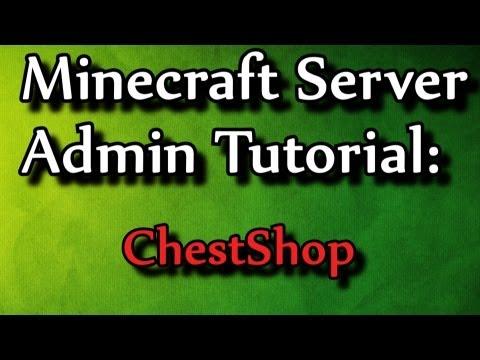 Minecraft Admin How-to: ChestShop