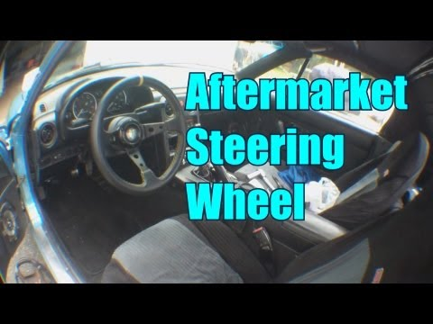 How To Install An Aftermarket Steering Wheel / Haggard Garage /