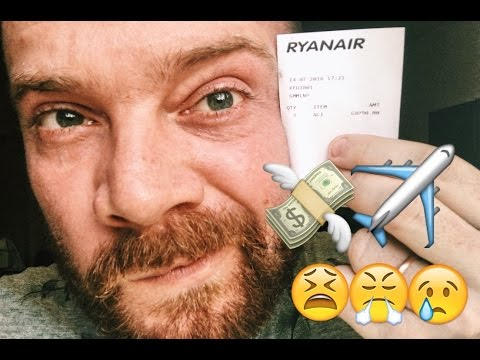 RYANAIR FINED ME £90 !!!