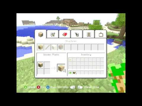 [Xbox] Minecraft: How to make a Crafting Table
