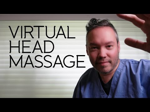 360° Virtual Head Massage ~ ASMR/Head Massage/Binaural
