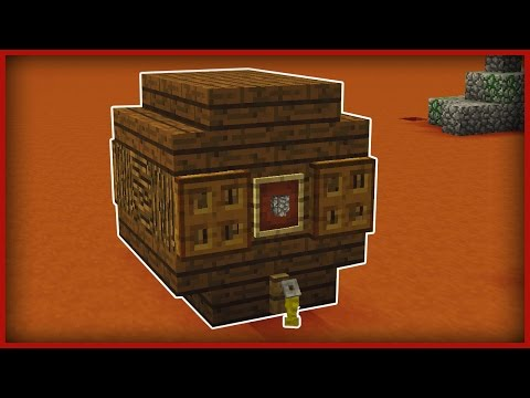 Minecraft: How to make a BEER KEG!
