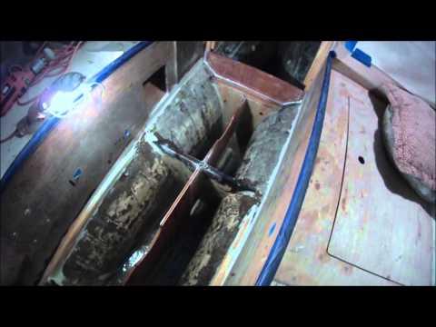 Building an Integral Bilge Water Tank