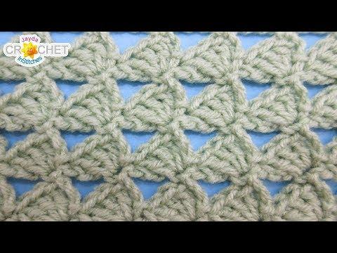 Triangle Trains Crochet Stitch - Calendar Blanket - May