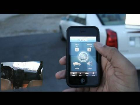Start your Car with an iPhone