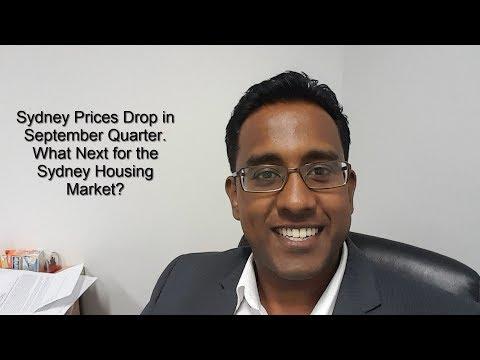 Sydney House Prices  Drop $23,000. What Happens Next...