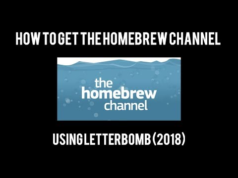 How to get the Homebrew Channel on the Wii (2018)