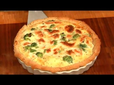 Quiche Recipes with Cheese, Onion, Egg & Broccoli : Easy Recipes