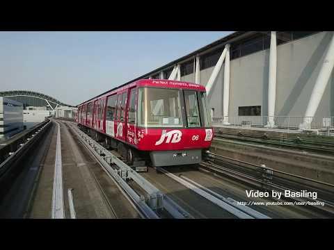 日本大阪關西機場客運大樓穿梭列車 ウイングシャトル Osaka Kansai Airport Shuttle Train