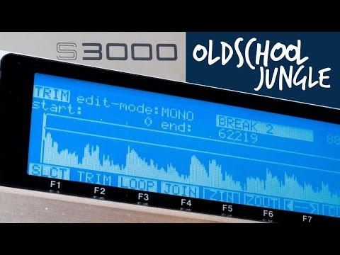 Oldskool Jungle [Live Track] (Akai S3000 - QY70)