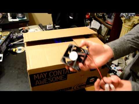 Box PC Fan Swap (Reduced noise) & Adding Dust Filter