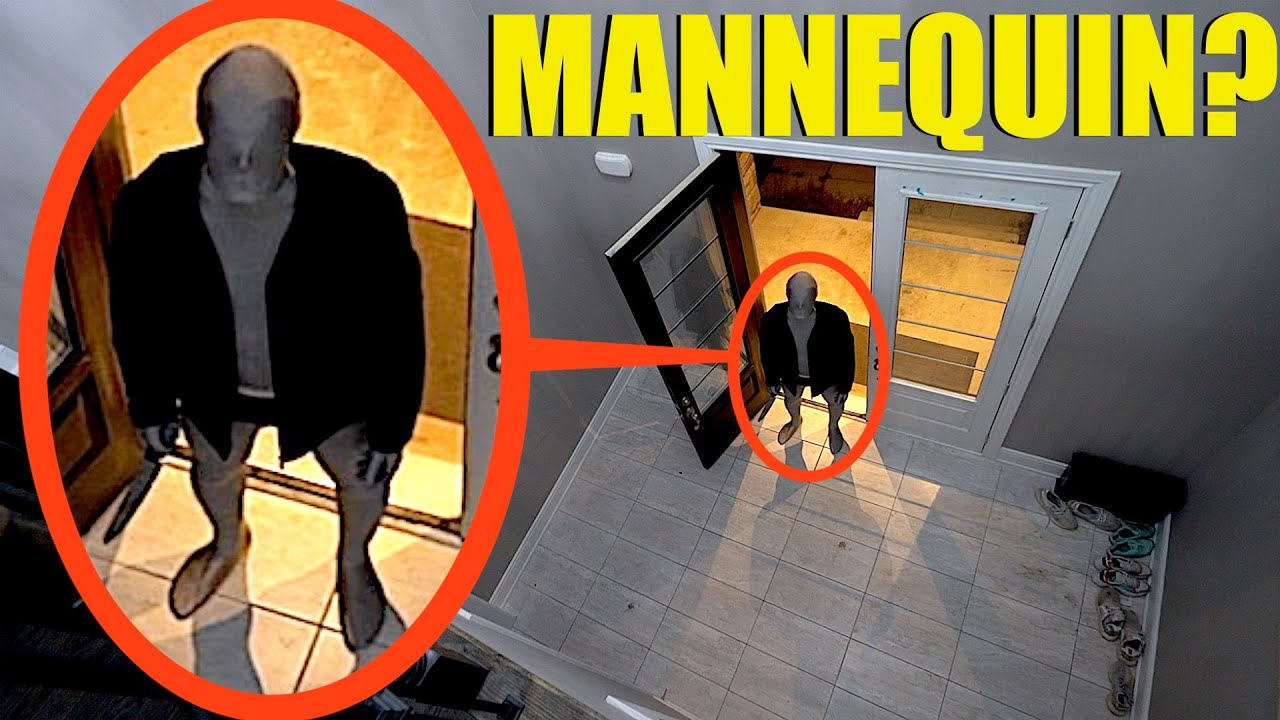 when you see the Mannequin Man enter your house, DON'T Look away! (He moves when you aren't looking)