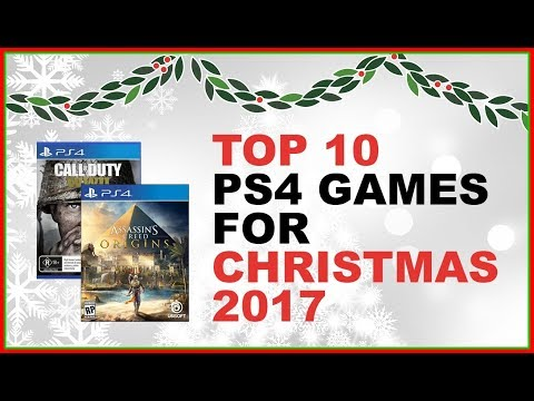 Top PS4 Games For Christmas 2017