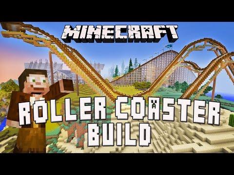 Minecraft: Timelapse Roller Coaster Build   (Scarland Coaster Build Ep.26)