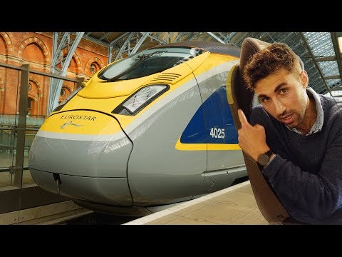 Eurostar unveils brand new train on London to Brussels route   CNBC Reports
