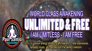 Download 3D SOUND 1000's Of Positive Affirmations Meditation Awaken Energy Vibration Luck Health Paul Santisi