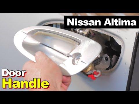 2005 Nissan Altima Exterior Door Handle, Interior Panel, & Window Regulator