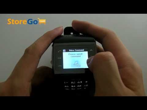 ET1 TFT LCD Touch Screen Keypad Dial GSM Wrist Watch Cell Phone