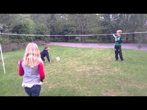 Badminton ersätter Minecraft :-)