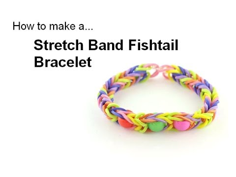 How To: Stretch Band Fishtail Bracelet, using the EZ Looper