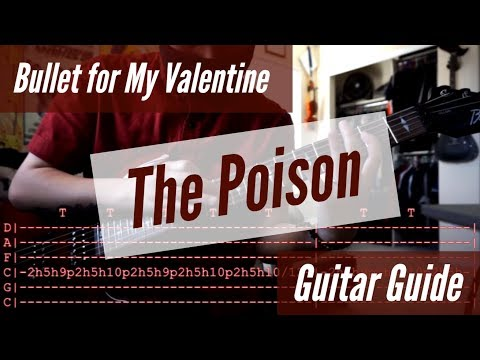 Bullet for My Valentine - The Poison Guitar Guide