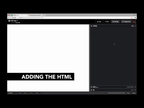 Adding HTML - Building an Interactive D3 map