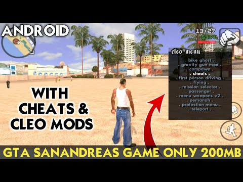200MB) GTA San Andreas LITE For Android Device | Cleo Mods
