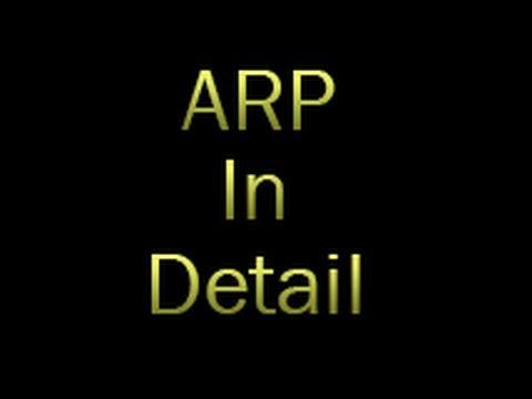 ARP in Detail