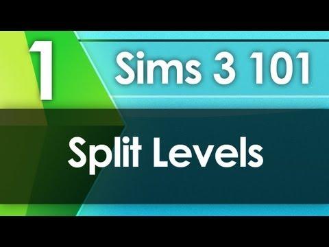 Sims 3 101 - Split Levels