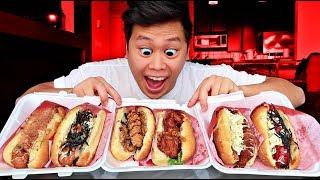 $1 Hot Dog Vs. $10 Hot Dog
