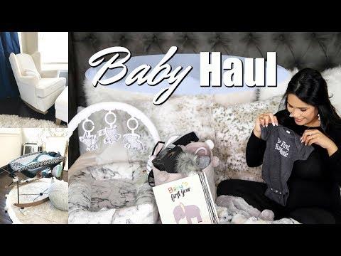HUGE  Baby Haul! Gadgets, Clothes & Nursery Decor! MissLizHeart