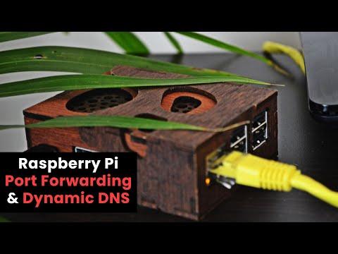 Raspberry Pi Port Forwarding & Dynamic DNS